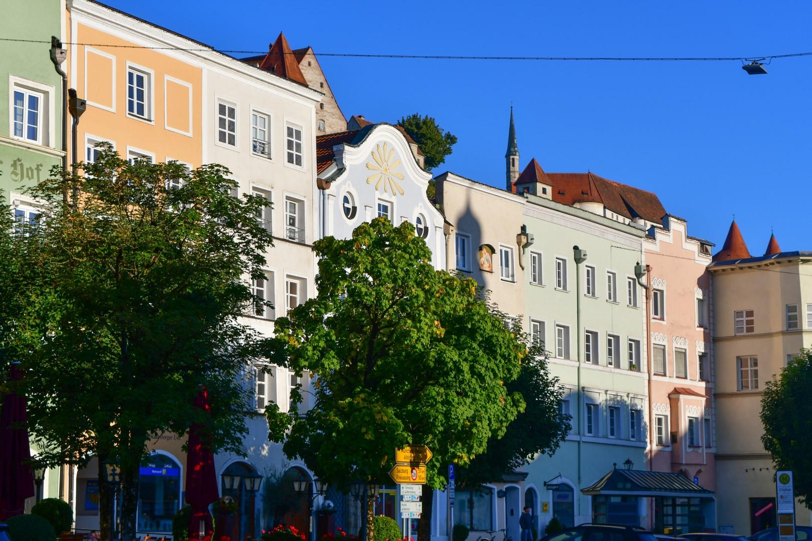 Burghausen am Morgen