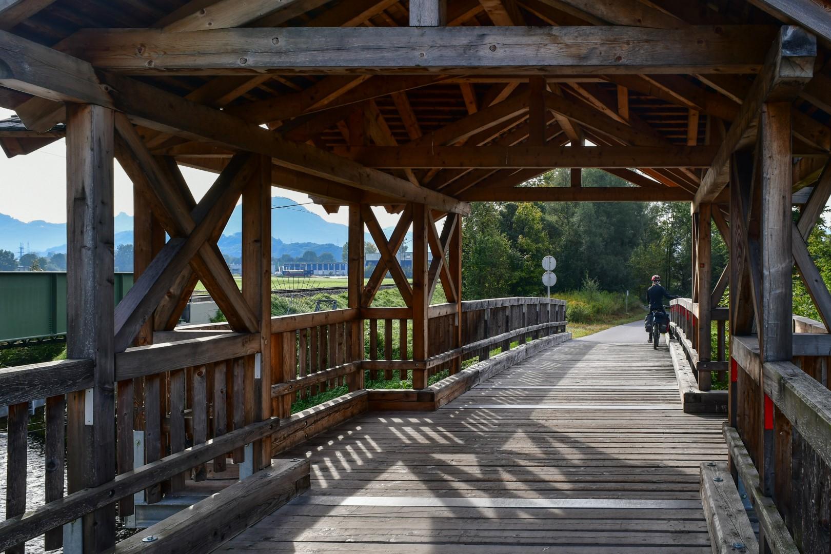 Tauernradweg kurz vor Salzburg