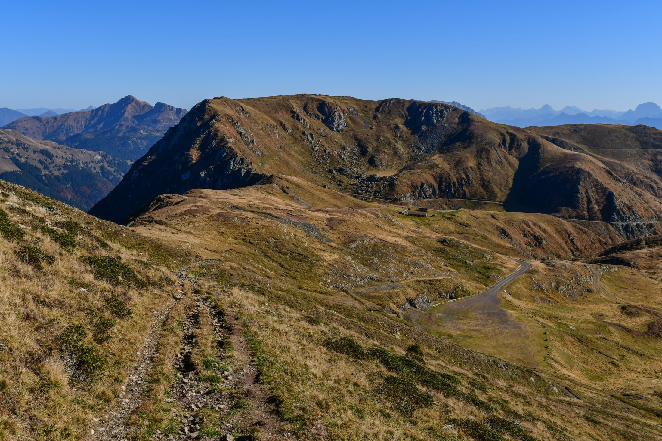 Aufstieg zum Monte Paularo