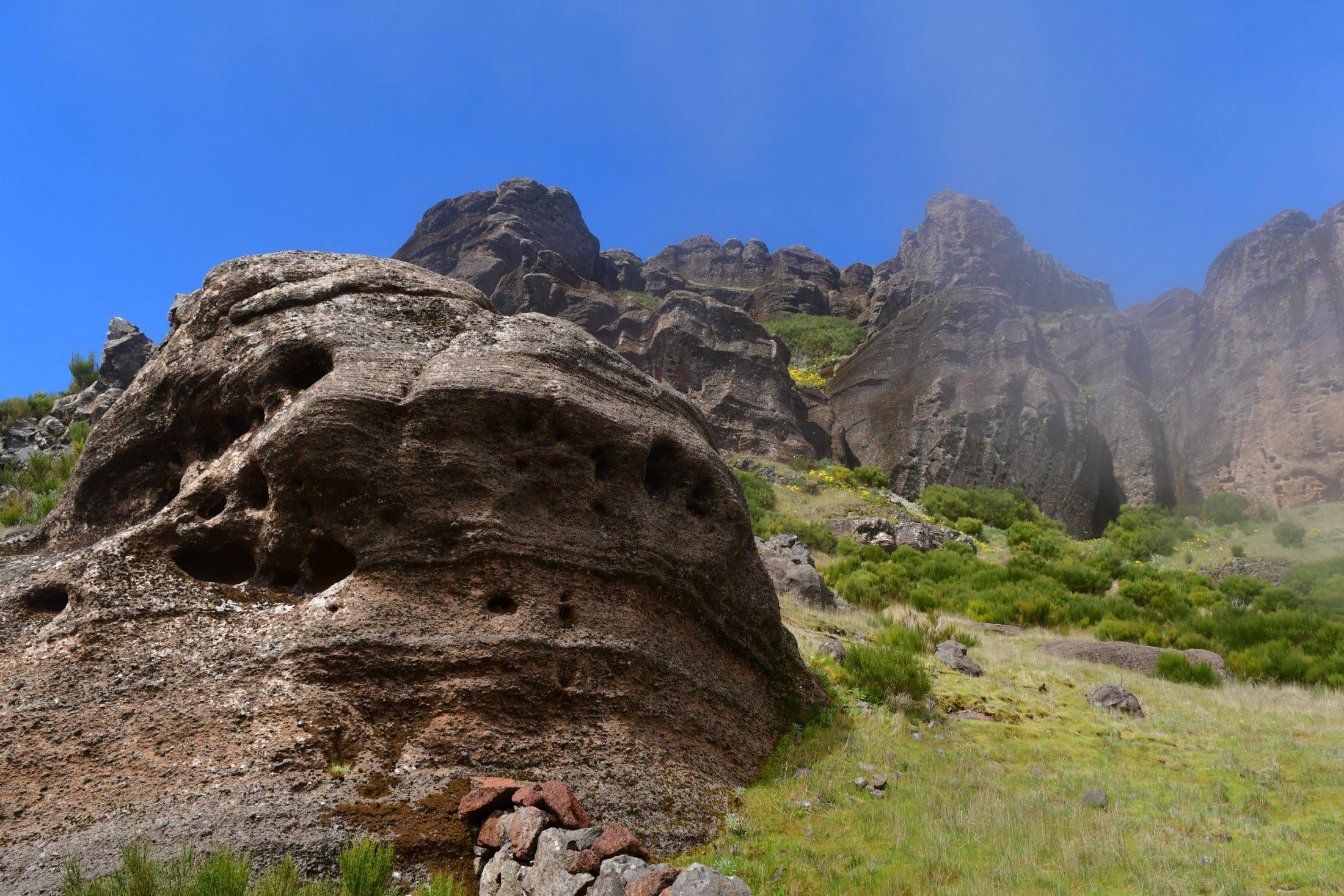 Felswächter am Pico Grande