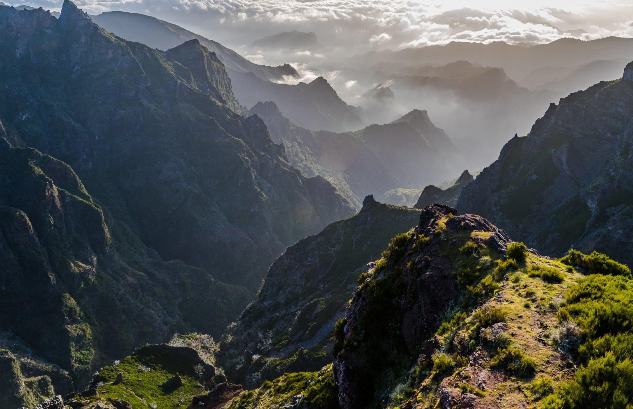 Tramping Madeira (Pico Ruivo)