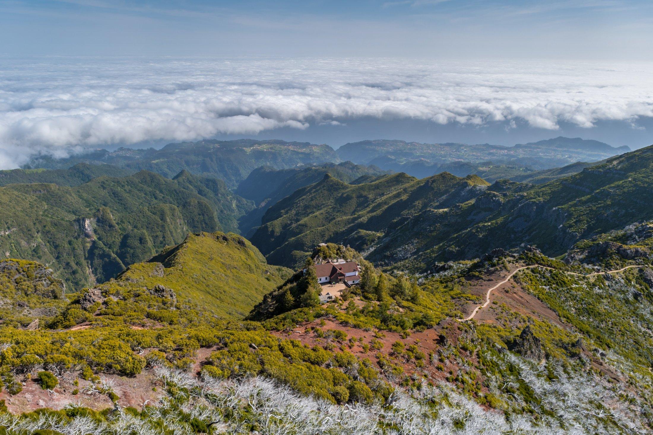Aussicht vom Pico Ruivo