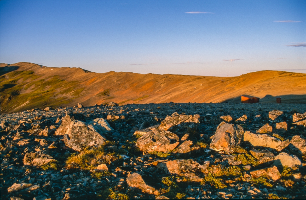 Sonnenaufgang auf der Robert Ridge