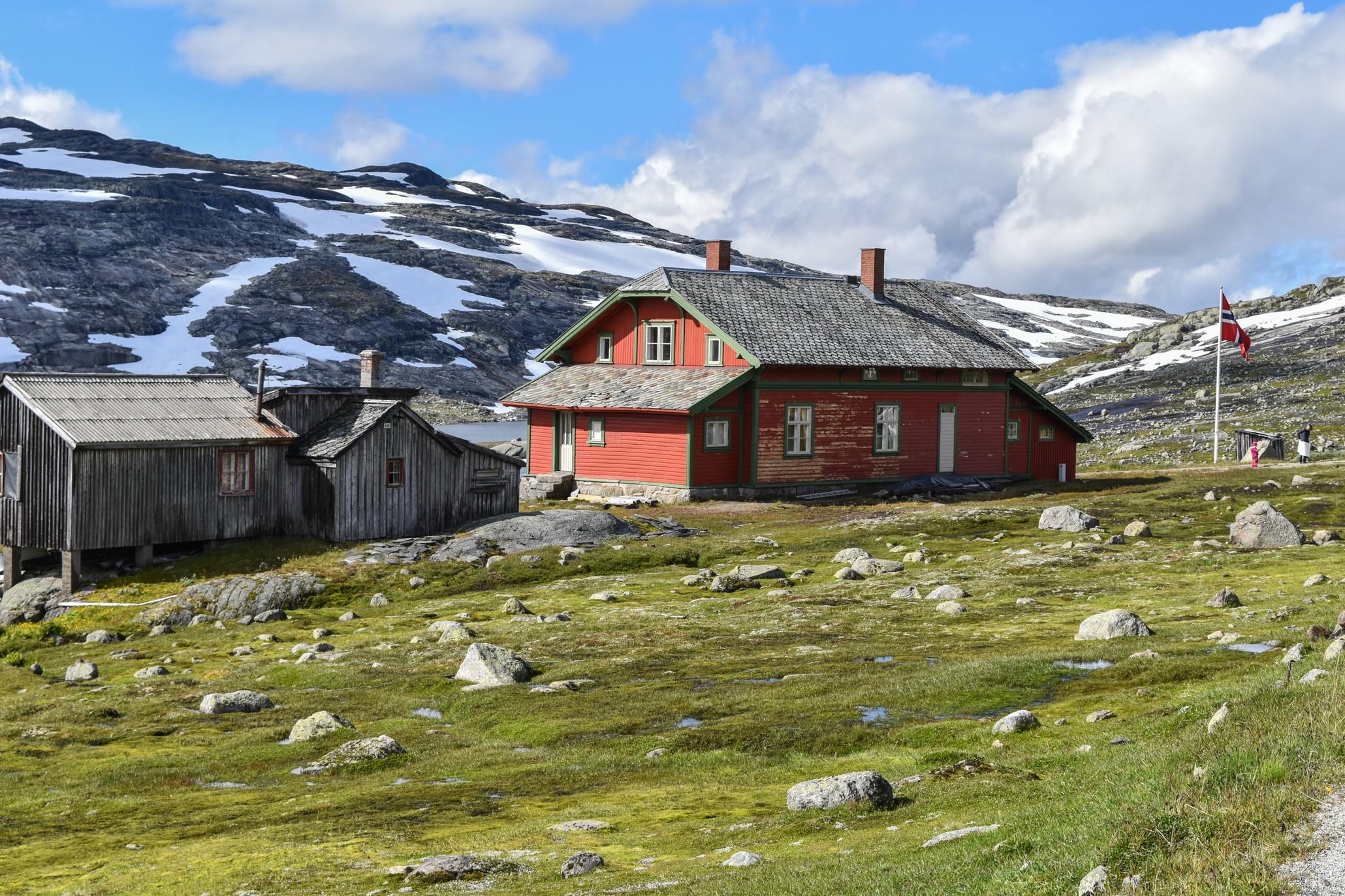 Alter Bahnhof am Rallarvegen