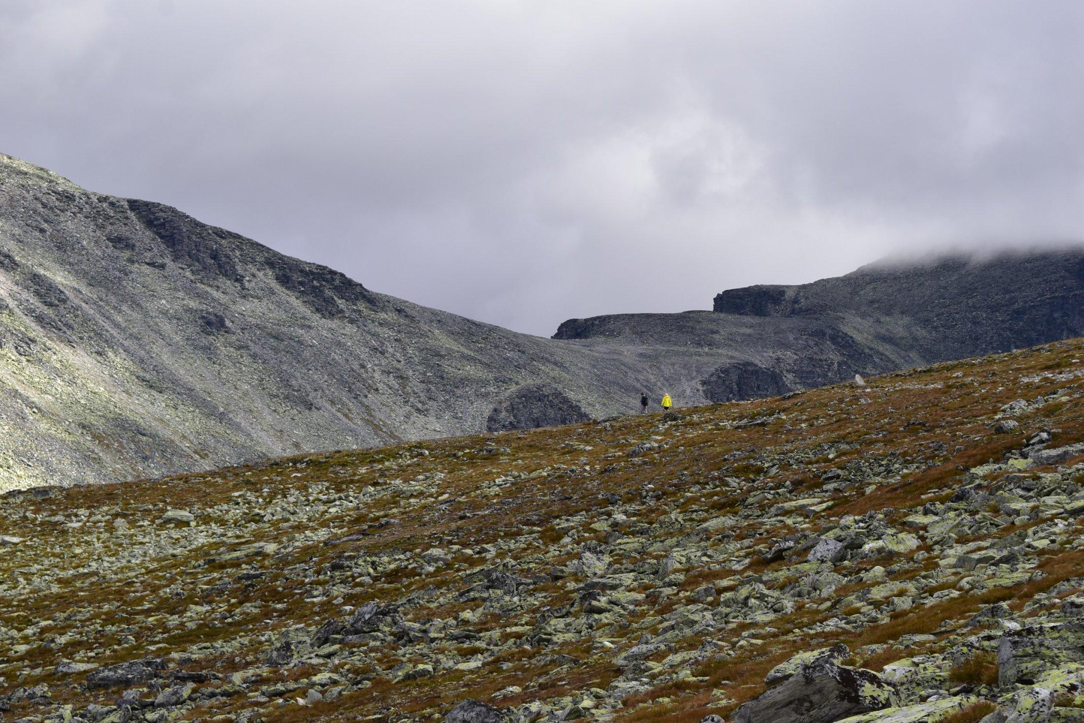 Steiniges Gelände
