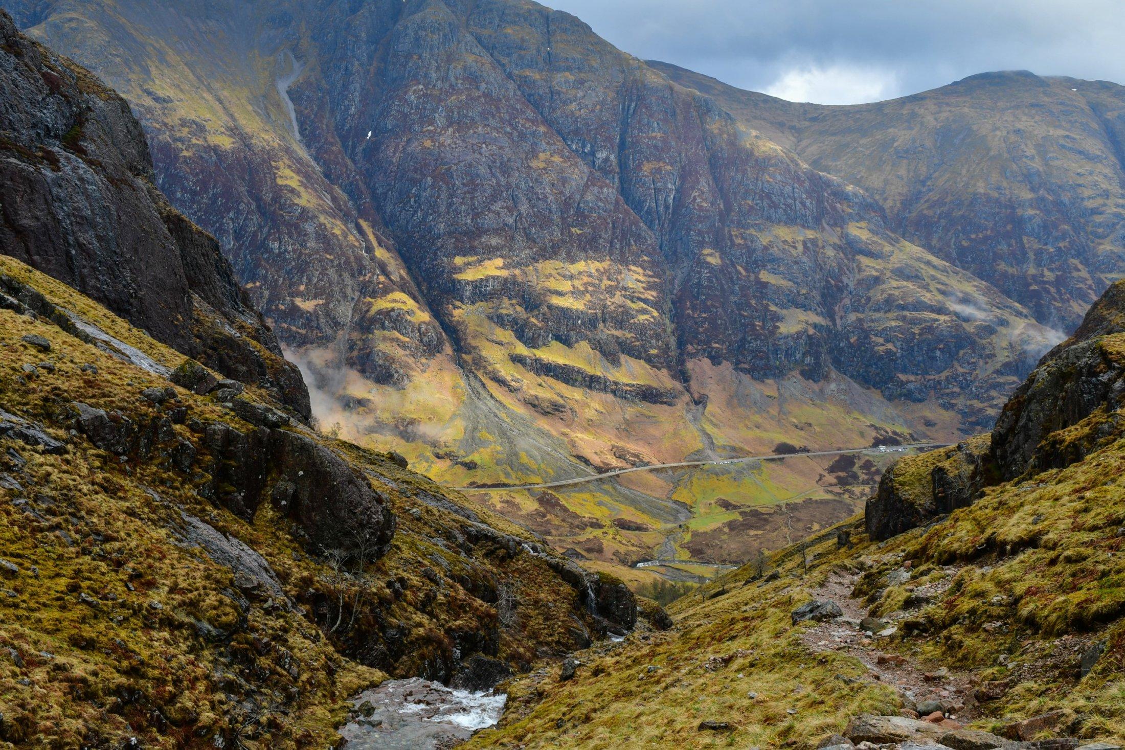 Wandern im Glen Coe