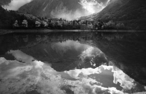 Lago di Tenno, Italien