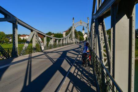 Prinz Luitpold Eisenbrücke in Laufen