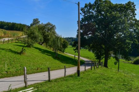 Radweg hinter Truchtlaching