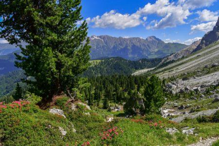 Wandern in den Dolomiten, Puez-Geisler
