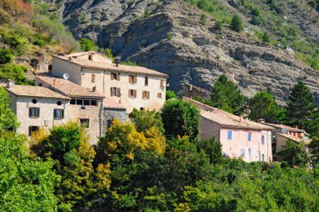 Bergdorf in der Haute Provence