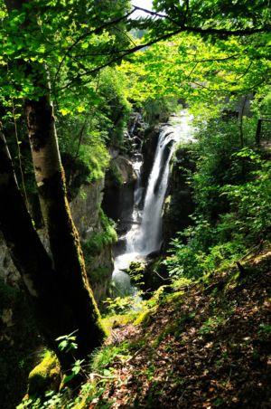 Waterfall im französischen Jura