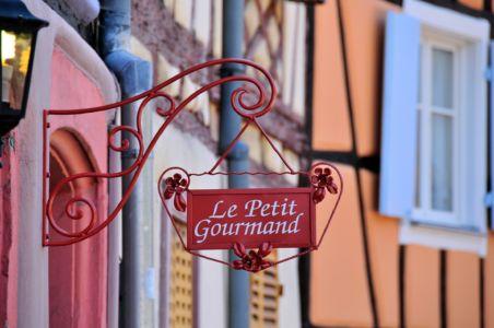 Le petit Gourmand in Colmar, Alsace