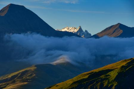 La Meije seen from Col de la Croix de Fer