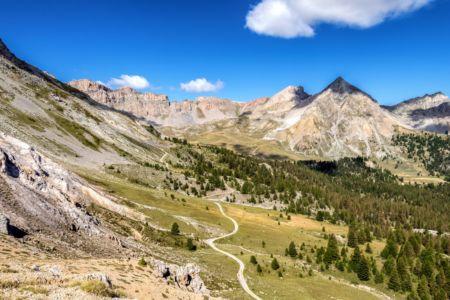 Aussicht am Col d'Izoard