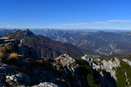 Gipfelblick über die Karnischen Alpen