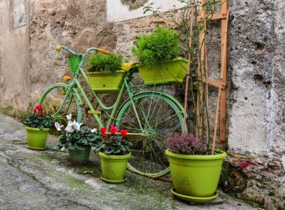 Fahrrad in Morano Calabro