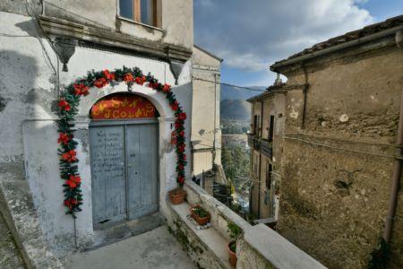 Church Gate in Morano Calabro