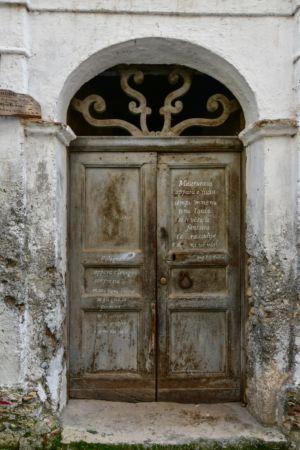 Tür in Morano Calabro