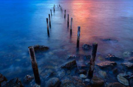 Sea shore of Scario