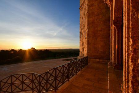 Castel del Monte in Morning Light