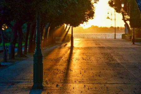Winter Morning in Trani