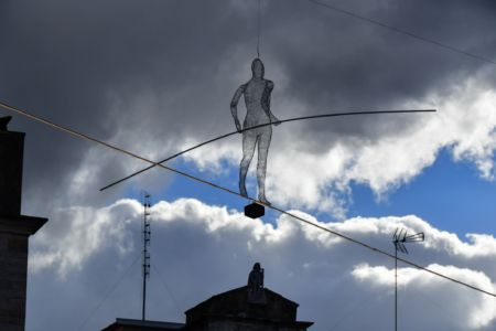 Balancing Man Model