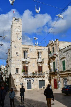 Church of Ruvo di Puglia with Bird Models