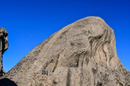 Steintreppe ins Nichts in Castelmezzano