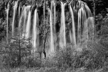 Wasserfall im NP Plitvic, Kroatien