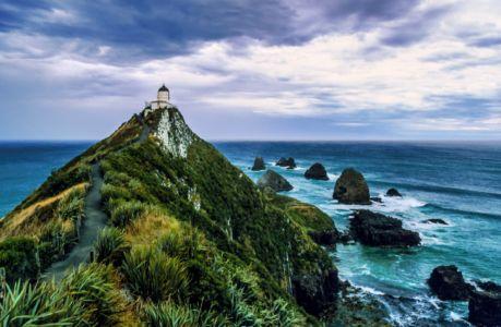 Leuchttum auf der Nordinsel, Neuseeland