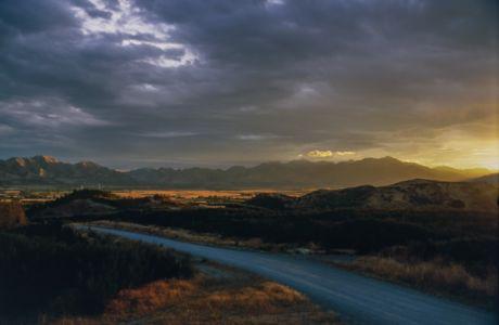Sunset in Otago, NZ