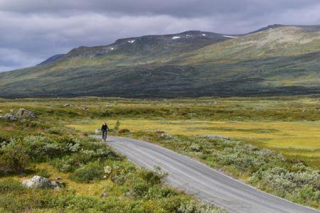 Biking Mjolkevegen