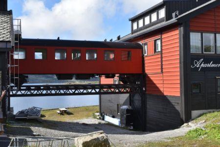 Bahnhof in Finse