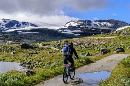Blick auf Hardangerjøkulen
