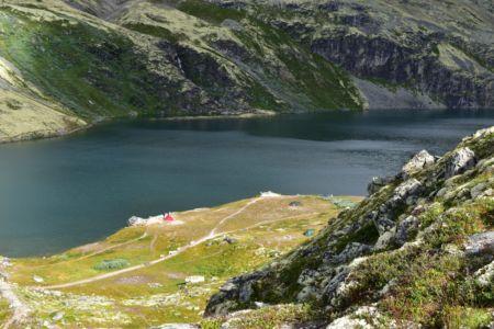 Zeltplatz an der Rondane-Hütte