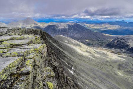 Storronden Gipfel - Kar