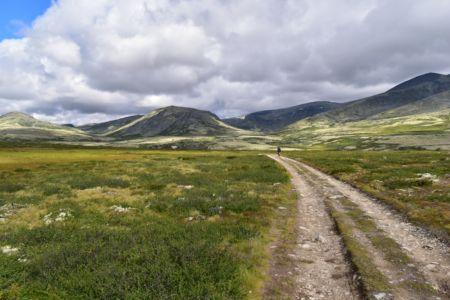 Fahrt zur Peer-Gyntt-Hütte