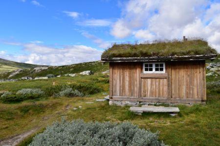 Schlafhütte an der Peer-Gyntt-Hütte