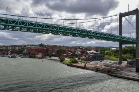 Hafeneinfahrt Göteborg
