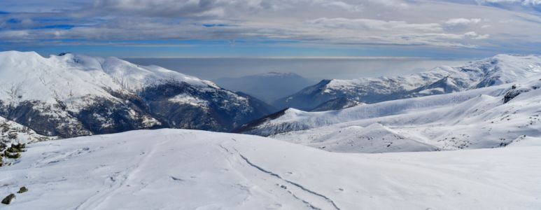 Blick vom Monte Grané
