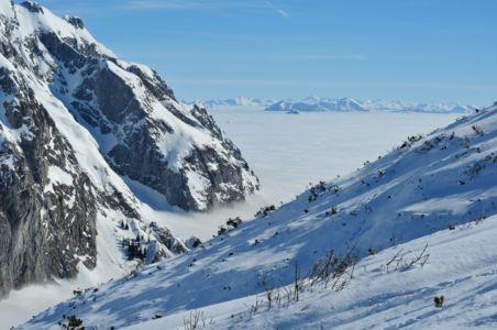 Skitour auf den Schneibstein