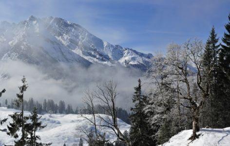 Watzmann im Nebel