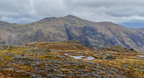 Plateau unterhalb des Gipfels