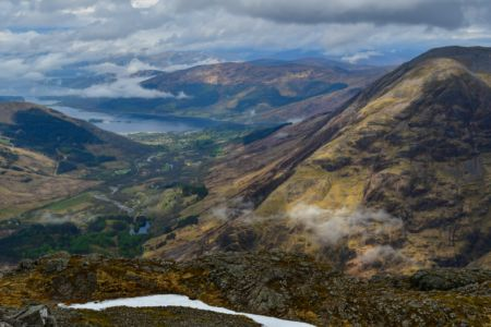 Ausblick zum Loch Leven und Glencoe