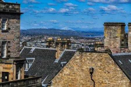Edinburgh Blick von der Burg