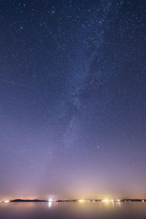 Milkyway over Chiemsee