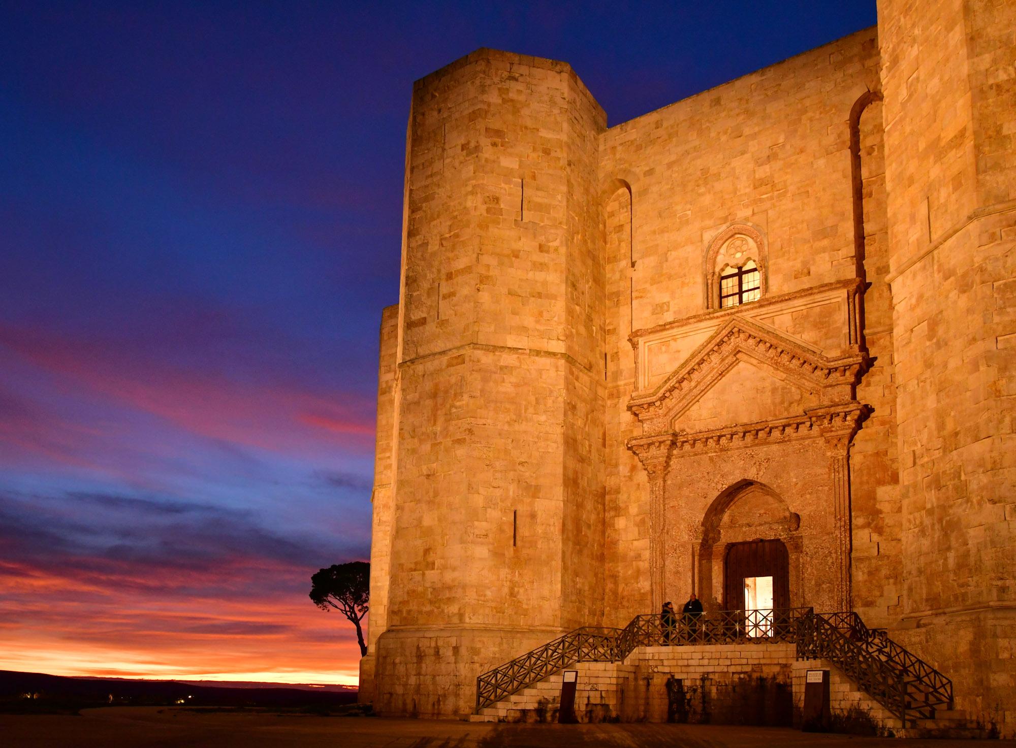Weihnachten am Castel del Monte in Apulien