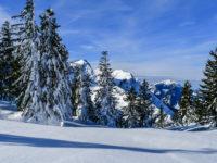 360° - Panorama vom Streicher mit Blick über die Chiemgau-Skitour-Arena