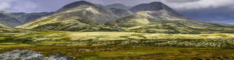 Bike & Hike Peer-Gynt-Hütte und Smuksjoseter, Rondane, Norwegen